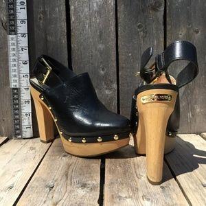 Michael Kors 'Beatrice' Leather Platform NEW 6